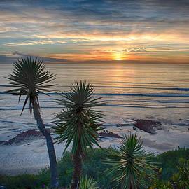 Bruce Friedman - Sunset Over Swamis - Encinitas - California