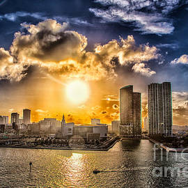 Rene Triay Photography - Sunset Over the Arena HDR
