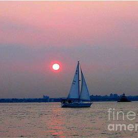 Dora Sofia Caputo Photographic Art and Design - Sunset over the Bay