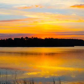 Parker Cunningham - Sunset Over The Lake