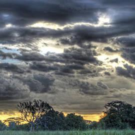 Claudio Bacinello - Sunset over the Serengeti