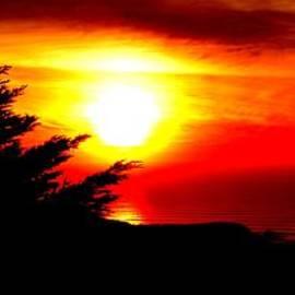 Jim Fitzpatrick - Sunset overlooking Pacifica CA II