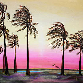 Asha Carolyn Young - Sunset Palms and Oasis