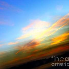 Robyn King - Sunset Reflections - Abstract