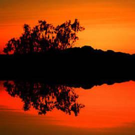 John Langdon - Sunset Reflections