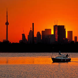 Brian Carson - Sunset Sail Ashbridges Bay Toronto Canada