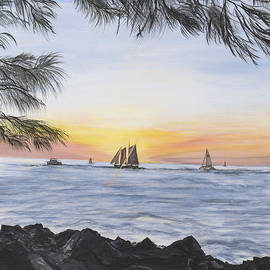 Donna Mann - Sunset Sail