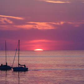 Michael Allen - Sunset Sail On Lake Ontario