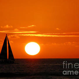 Kristine Merc - Sunset Sailing