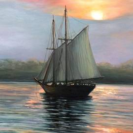 Eileen Patten Oliver - Sunset Sails