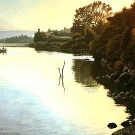 Graham Braddock - Sunset  Sea of Galilee  Israel