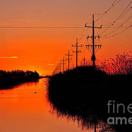 Kaye Menner - Sunset Silhouette