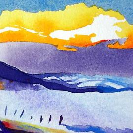 Sue Gardner - Sunset Snow