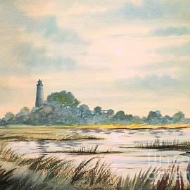 Bill Holkham - Sunset - St Marks Lighthouse