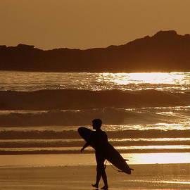 Ramona Johnston - Sunset Surfer
