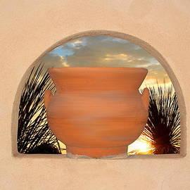 Michelle Elaine Smith - Sunset through the arch