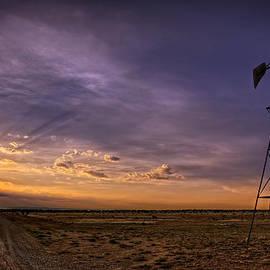 Ken Smith - Sunset Windmill