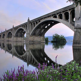Dan Myers - Super Moon Over The Susquehanna