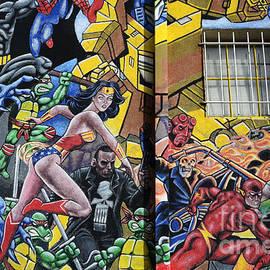 Bob Christopher - Superhero Wall Art Albuquerque