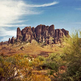 Connie Fox - Superstition Mountains