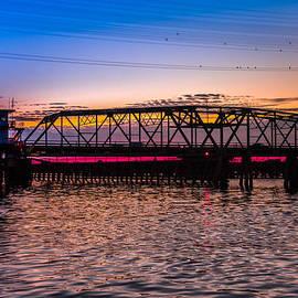 Karen Wiles - Surf City Swing Bridge