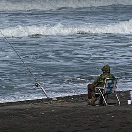 Randall Nyhof - Surf Fisherman on Rialto Beach