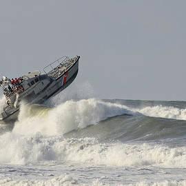 Bob VonDrachek - Surf Rescue Boat