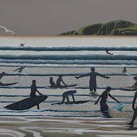 Arthur Glendinning - Surf School 2 Bantham