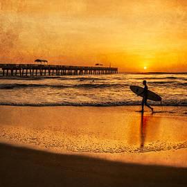 Debra and Dave Vanderlaan - Surfer at Sunrise