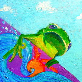 Sue Jacobi - Surfing Froggie