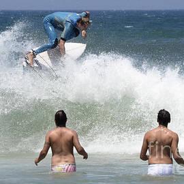 Bob Christopher - Surfing Joaquina Beach Brazil 1