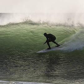 Bruce Frye - Surfing Silhouette