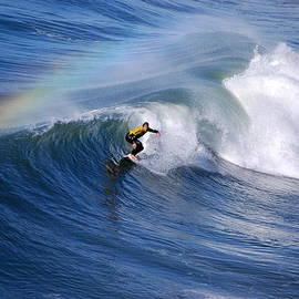 Catherine Sherman - Surfing Under a Rainbow