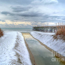 Kathy Baccari - Surfside Beach Pier Ice Storm