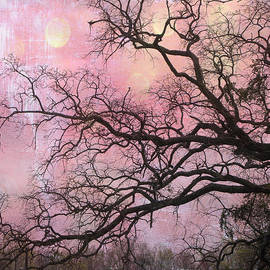 Kathy Fornal - Surreal Gothic Fantasy Abstract Pink Nature - Fantasy Surreal Trees Nature Photograph