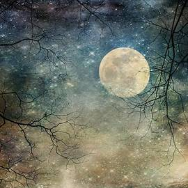 Melissa Bittinger - Surreal Night Sky Moon and Stars
