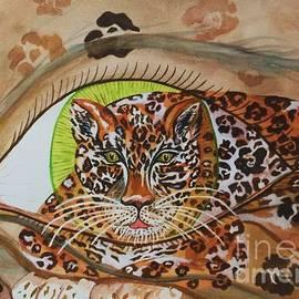 Ellen Levinson - Surreal- Shamans Eye- Shapeshifting Jaguar