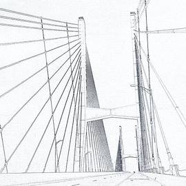Dan Sproul - Suspension Bridge Sketch