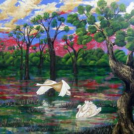 Susan McLean Gray - Swan Heaven