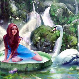 Angelgold Art - Swan Princess
