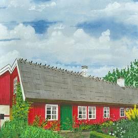 David Wolfer - Swedish Red Farm House