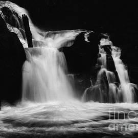 Bob Christopher - Sweet Creek Falls Oregon Monochrome