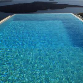 Colette V Hera  Guggenheim  - Swim Above the Santorini Island
