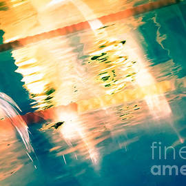 Pete Edmunds - Swimming Pool 01A - Abstract