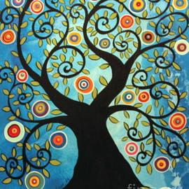 Karla Gerard - Swirl Tree