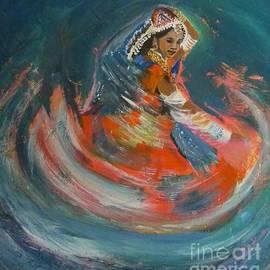 Jolanta Shiloni - Swirling Garba