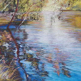 Lynda Robinson - Swirls and Ripples - Goulburn River