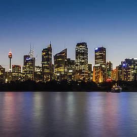 Carlos Cano - Sydney Skyline