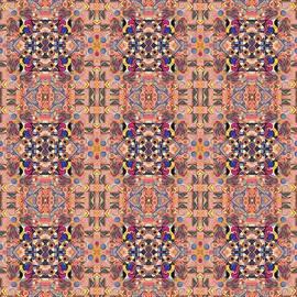 Helena Tiainen - T J O D Mandala Series Puzzle 4 Arrangement 9 Tile