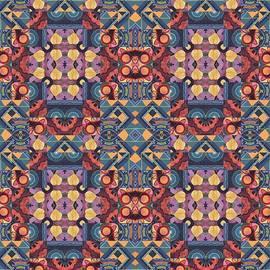 Helena Tiainen - T J O D Mandala Series Puzzle 5 Arrangement 2 Compilation